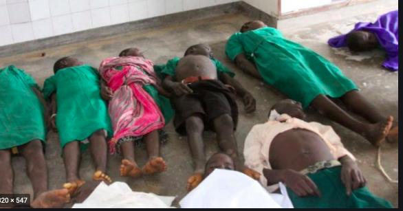 Ten struck to death by lightening in Uganda