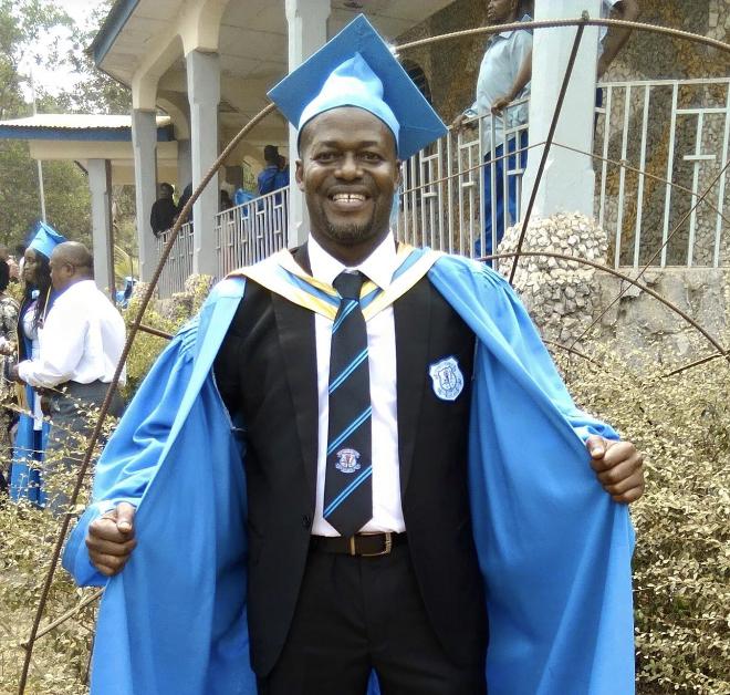 Makeni bids farewell to Alpha Jah- a development Worker