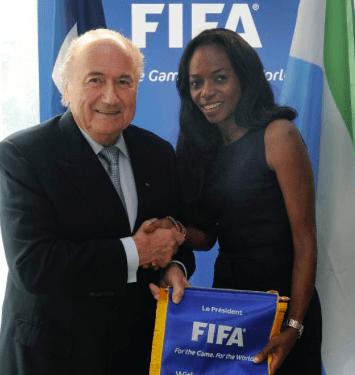 Isha Johansen is elected into the Fifa Council